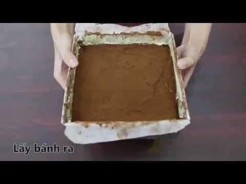 Cách làm bánh Tiramisu tình yêu cho Valentine