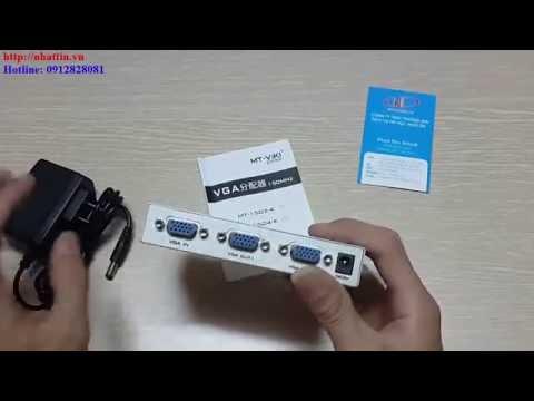 Bán bộ chia 1 cpu ra 2 màn hình chính hãng Viki MT-1502