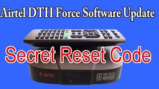 How to update Airtel DTH Box Software | Airtel STB Secret Code screenshot 3