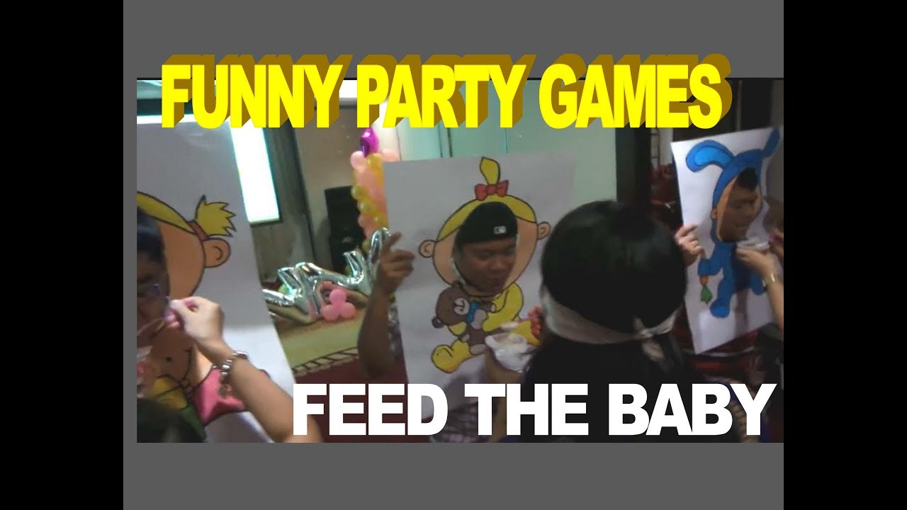 Funny Party Games Feed The Baby Christening Birthday Party