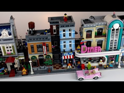 LEGO Diner 10260: LIVE-Review