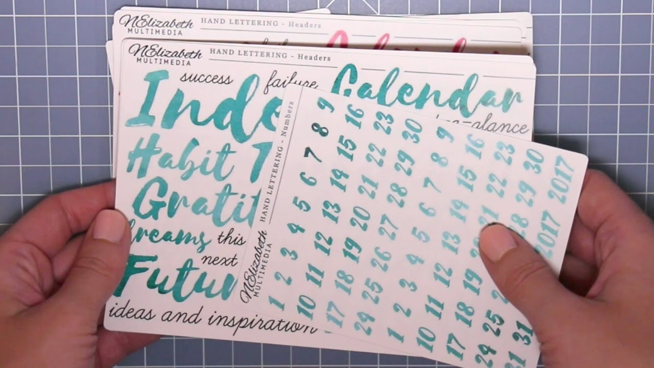 a14aefe153041 New Releases for May 2017 - Etsy Bullet Journal Stickers (plus free  download!)