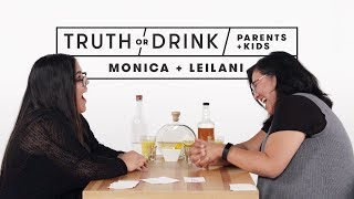 parents and kids play truth or drink monica leilani