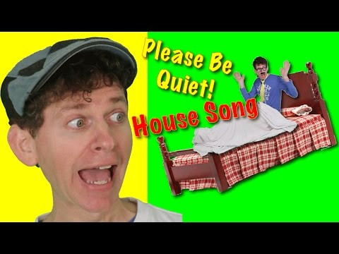 Learn Rooms of the House Song with Matt | Action Songs for Children | Learn English Kids