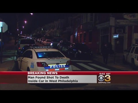 Man Found Shot To Death Inside Car In West Philadelphia