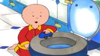 Caillou en Français   La Course de Voiture de Caillou   dessin animé   dessin animé pour bébé