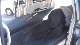 車中泊専用マットを2枚敷いて寝てみた。車内がフラットな快適空間に! thumbnail
