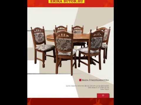 Erika-bútor flandern étkezőgarnitúrák - YouTube