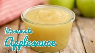 How to Make Homemade Applesauce - Gemma's Bold Baking Basics Ep 28