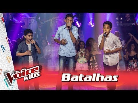 Alerrandro, Felipe e João Manoel cantam 'Cê Que Sabe' nas Batalhas – TVK Brasil | 3ª T