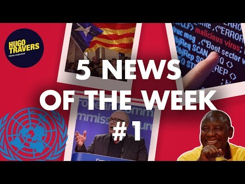 CATALONIA, SOUTH AFRICA, POLAND, CYBERSECURITY... 5 news of the week - #1