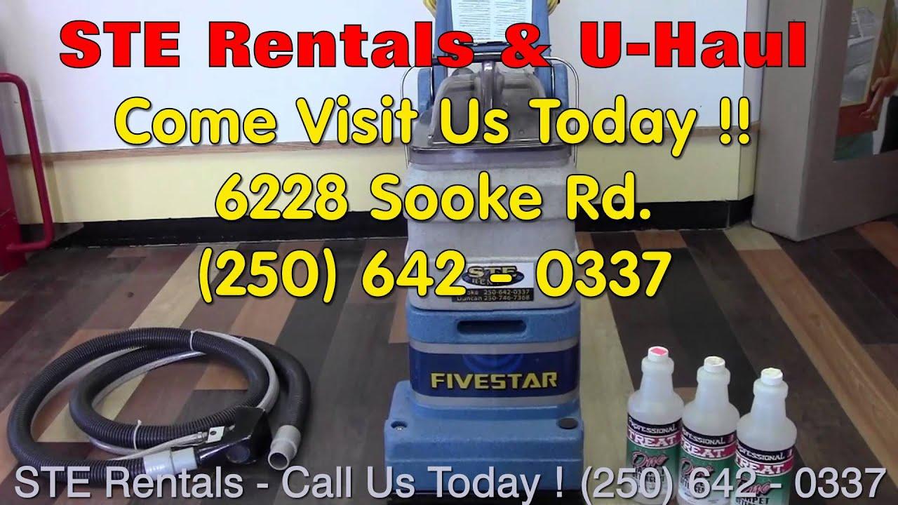 Rent Professional Grade Carpet Steam Cleaner   (250) 642   0337   Sooke  Rentals   Rug Doctor   YouTube