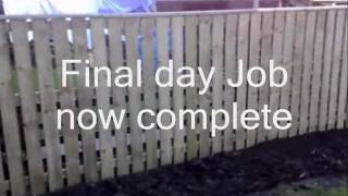 Garden Angels Fencing Contractor Services Timber Work