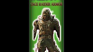 Fallout 4 RIFLE MAN Spec Hellcage Reba II Specialist HD