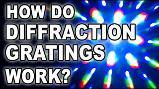 science behind diffraction gratings