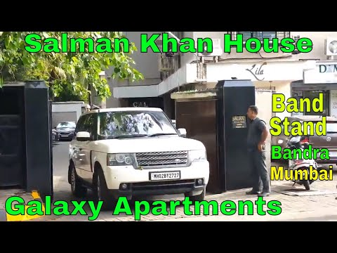 Salman Khan House | Galaxy Apartments | Bandstand | Bandra | Mumbai