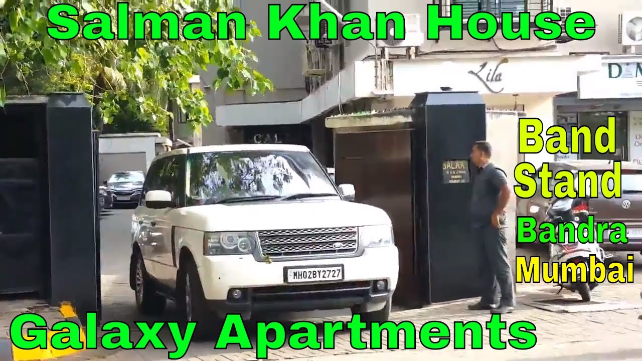 Salman Khan House | Galaxy Apartments | Bandstand | Bandra ...