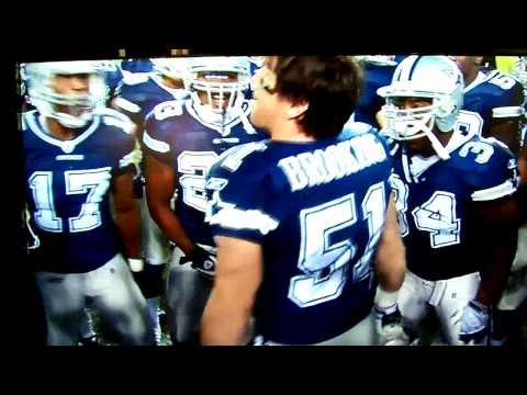 Dallas Cowboys Pre-Game Keith Brooking