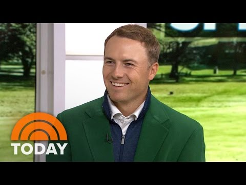 Golf Star Jordan Spieth: I Want To Win 'At Least Two Majors' In 2016 | TODAY