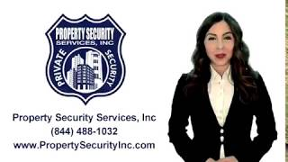 Property Security Services, Inc Los Angeles Best Security Guard Company (818) 488-1032