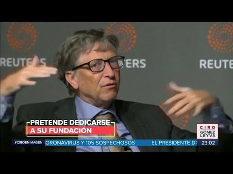 Bill Gates se retira de Microsoft | Noticias con Ciro Gómez Leyva