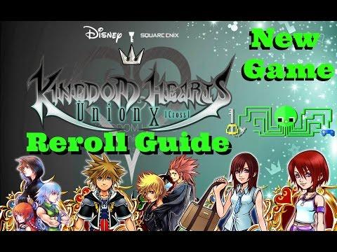 KH Union χ[Cross]  REROLL & NEW GAME GUIDE
