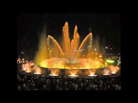 Barcelona - Der magische Brunnen von Montjuic