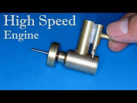 How to make a super high speed and very small air engine