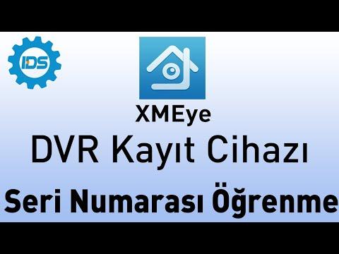 DVR Kayıt Cihazı Seri Numarasını Öğrenme - XMEYE - TOPSVIEW - XVR
