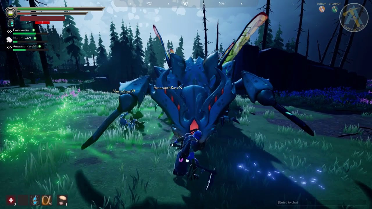 how to leave a dauntless game