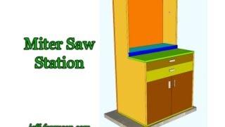 Miter Saw Station - Part 1