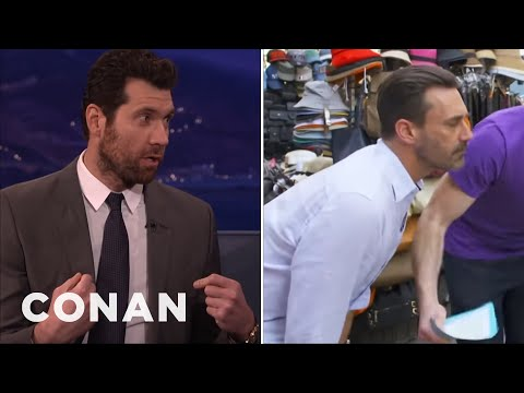 Billy Eichner Offered People $1 To Sleep With Jon Hamm   CONAN on TBS