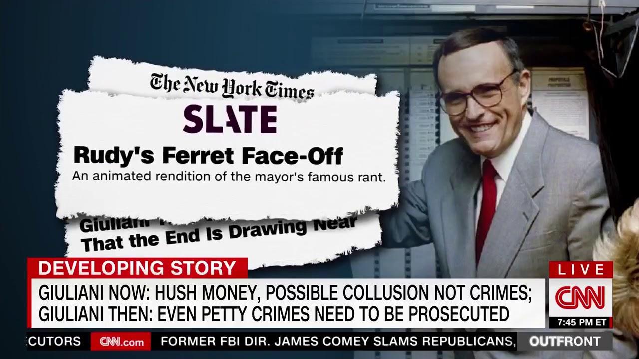CNN Supercut Nails Rudy Giuliani's 180-Degree Flip On Crime Under