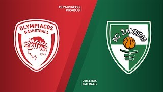 Olympiacos Piraeus -Zalgiris Kaunas Highlights | Turkish Airlines EuroLeague, RS Round 8
