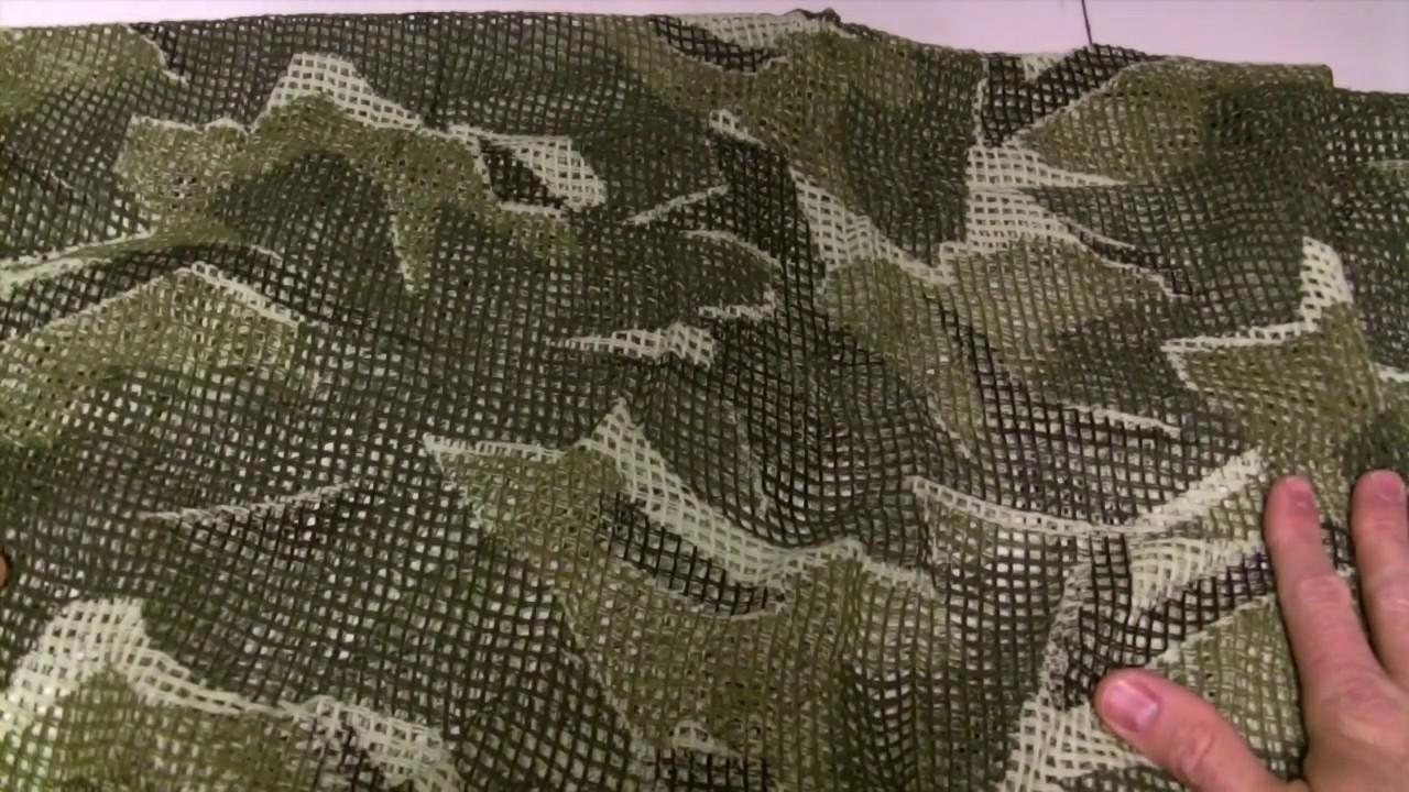 Scrim Net Scarf 90