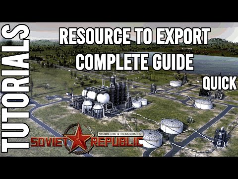 Quick Guide: How to setup a new Production | Tutorial | Workers & Resources: Soviet Republic Guides