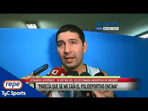 "Leonardo Gutiérrez, sobre su futuro: ""Queda poco camino por recorrer"""