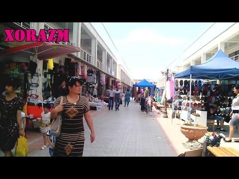 Urganch DEHQON BOZORI yonidagi bozorcha / Ургенч Мини-рынок возле ДЕХКОН БАЗАРА (HD)