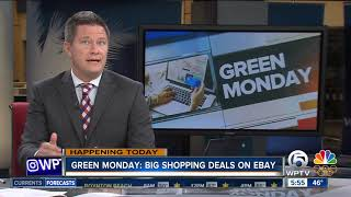 Stores offer 'Green Monday' deals
