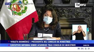 Gobierno peruano establece medidas focalizadas para controlar contagios de Covid-19