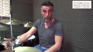 Παρουσίαση διδασκαλίας των drums στο Ωδείο Τέχνης Γ.Β. Φακανάς (Στέφανος Δημητρίου)