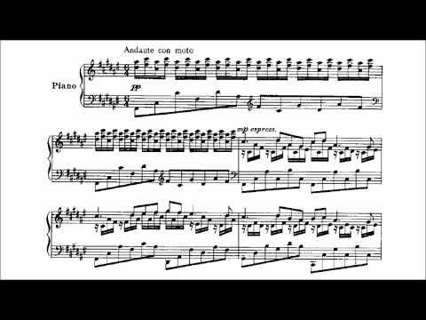 Mischa Levitzki - The Enchanted Nymph (audio + sheet music)
