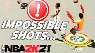 I've been making IMPOSSIBLE SHOTS on NEXT GEN NBA 2K21...