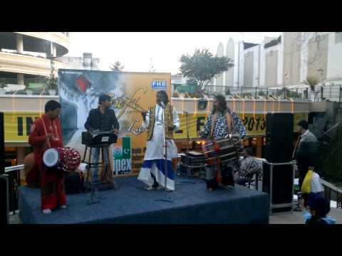 Pakistani Folk Artists Performing at Indo-Pak International Expo, Ludhiana