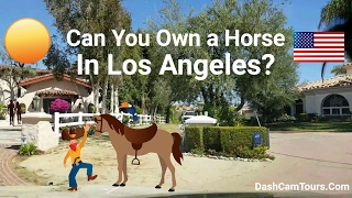 Dash Cam Tours: Large Celebrities' Homes in Hidden Hills, Calabasas, California USA. LA's Suburbs