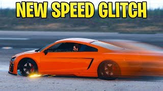 GTA Online: NEW Speed Glitch - How To Have the FASTEST Car Possible (Faster than Jets)