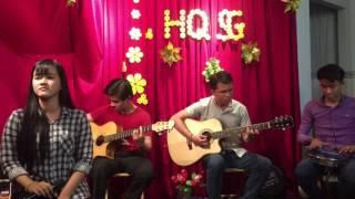 Phận Tơ Tằm -[ Thuý An ] guitarist Sang Huỳnh ft Hoàng Anh - Tân Bo