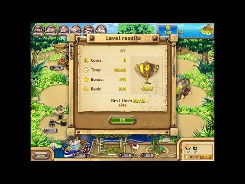 Farm Frenzy Gone Fishing Only GOLD (level 61) Веселая ферма Рыбный день (Уровень 61) Золото
