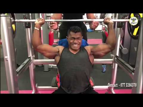 2025 Mr. Olympia From Sri Lanka - The Biggest Bodybuilder One day on Stage