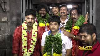 Jayam Ravi and Bhooloham team at Angalamman Kovil